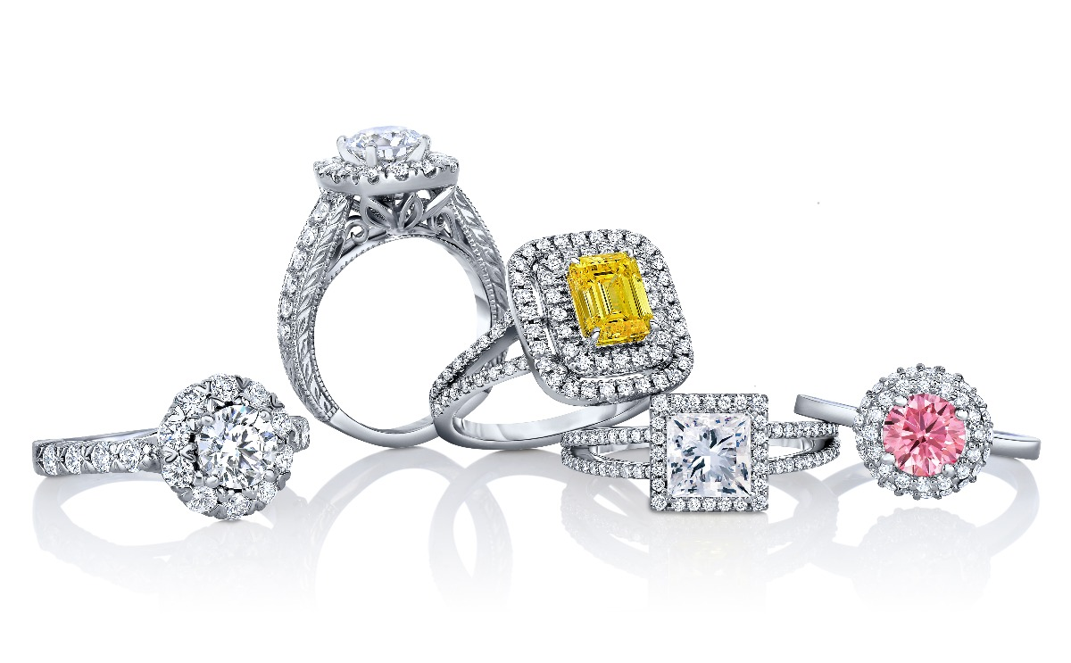 Pure Grown Diamond Rings